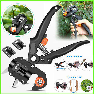 Garden Nursery Fruit Tree Pro Pruning Shears Scissor Grafting Cutting Tools Kits