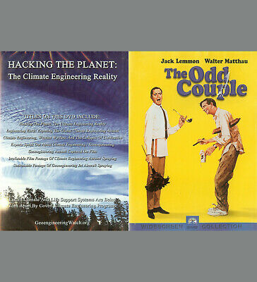 HACKING the PLANET - Climate 2017 / The ODD COUPLE 1967 - Jack Lemmon  NEW  DVD