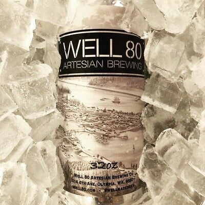 Well 80 Artesian Brewing Company Sticker decal craft beer Brewery Micro Olympia