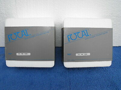 NOS Pair Focal TC90TDX Inverted Dome Tweeters with Original Boxes RARE! Pair 1