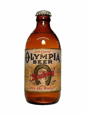 Oly Stubby Olympia Brewing Company Sticker decal craft Brewery Micro Washington