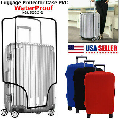 "Elastic Luggage Suitcase Bags Cover Anti scratch 18"" 20"" 22"" 24"" 28"" Multi Color"