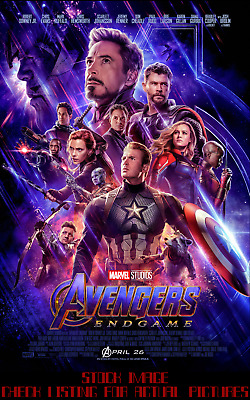 Official DMR Avengers: Endgame Payoff Poster 27x40 Double Sided w minor damage!