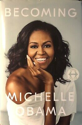 Becoming by Michelle Obama Hardcover/DJ 2018 1st Edition