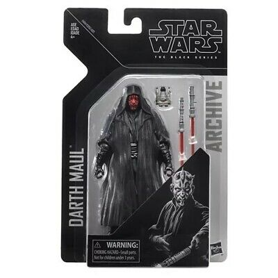 Star Wars The Black Series Archive Darth Maul 6-Inch Action Figure MIB NEW