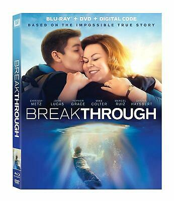 Breakthrough (Blu-ray, DVD, 2019) Chrissy Metz Josh Lucas Topher Grace