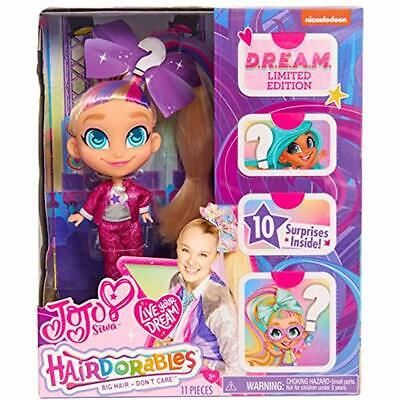 """Hairdorables JoJo Siwa Limited Edition D.R.E.A.M. Doll Style Toys """" Games"""