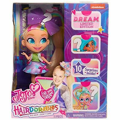 """Hairdorables JoJo Siwa Limited Edition D.R.E.A.M. Doll Style B Toys """" Games"""