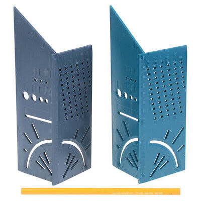 3D Mitre Angle Measuring Square Size Measure Tool With Gauge Ruler TOOL