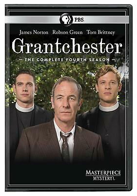 Masterpiece Mystery! Grantchester, Season 4 James Norton NC-17 DVD JULY 30 2019