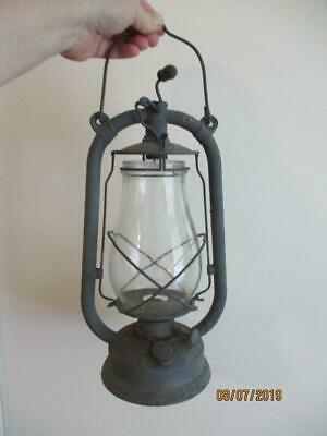 Vintage 1930's German Feuerhand Number 327 Hurricane Lantern -Lamp