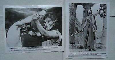 SPECIAL EFFECTS/RAY HARRYHAUSEN/CLASH OF THE TITANS/PHF16/2 photos
