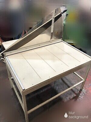 Ideal 1100 Guillotine 760mm x 1100mm Cutting Length Manual