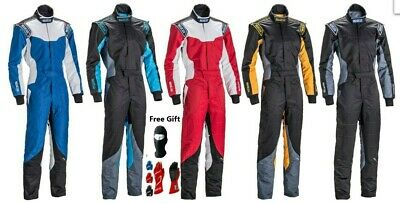 SPARCO GO Kart Race Suit CIK/FIA Level 2 approved karting suit All Sizes & Gift