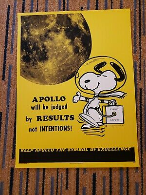 Mondo Snoopy Peanuts Apollo Era Safety Poster 2019 Sdcc Exclusive Charles Shulz