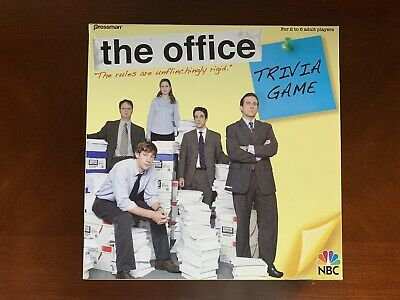 THE OFFICE Trivia Board Game 99.9% COMPLETE (Pressman, 2008) Dunder Mifflin NBC