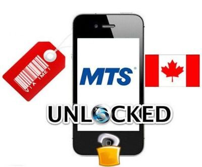 Premium UNLOCK SERVICE Bell , MTS CANADA IPhone XS XS MAX XR only