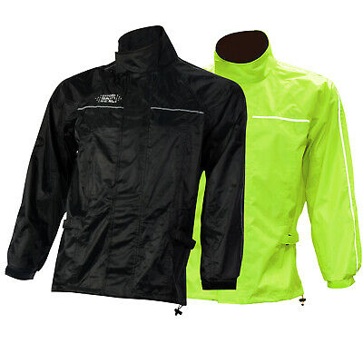 Oxford Rain Seal All Weather Over Jacket Motorcycle Bike Waterproof Rainwear