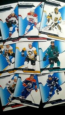2018-19 Sp Authentic Profiles (18) Blue Parallel (13) Red Parallel (6) Huge Lot!