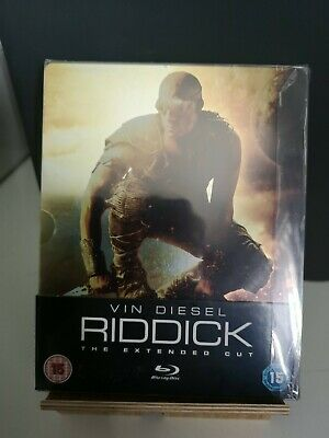 Riddick Blu-ray Steelbook HMV UK Exclusive