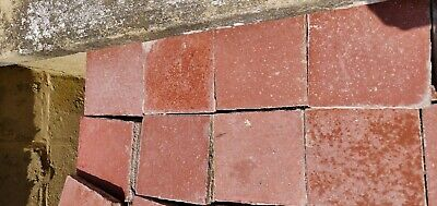 Reclaimed Victorian Quarry Tiles 6 x 6 x 1""