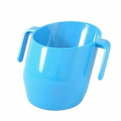 Doidy Cup Weaning Training Cup Blue Sippy Cup for Toddler Bickiepegs