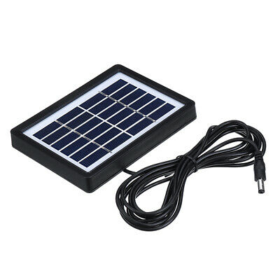 6V Class A Polycrystalline Solar Panel with 3m Cable for Light/Monitoring