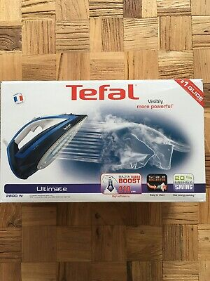 Tefal Ultimate Steam Iron 2800 Watts 33% More Glide