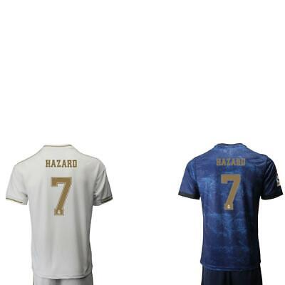 Eden Hazard White Home Away 19-20 Soccer Jersey