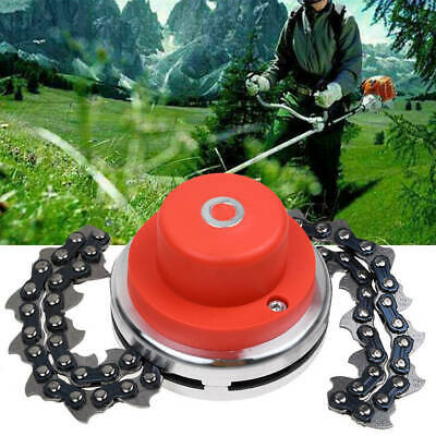 2 Types 65Mn Trimmer Head Coil Chain Brush Cutter Trimmer Grass-For Lawn Mower