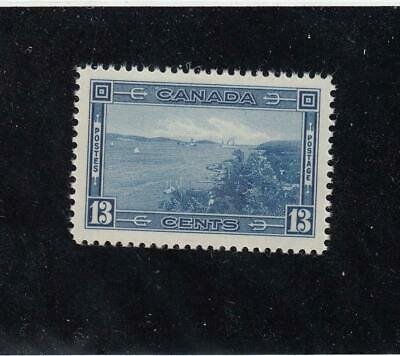 CANADA (MK4316) # 242 VF-MNH 13cts 1938 PICTORIAL /HALIFAX HARBOUR CAT VALUE $30