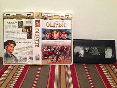 Oliver ! VHS tape & clamshell case FRENCH