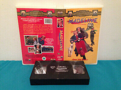 Madeline vhs tape & clamshell case FRENCH