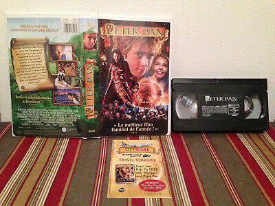 Peter pan VHS tape & clamshell case FRENCH