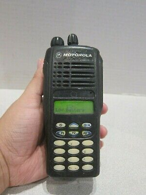Motorola HT1250 UHF 128 Two Way Portable Radio with Keypad AAH25RDH9AA6AN