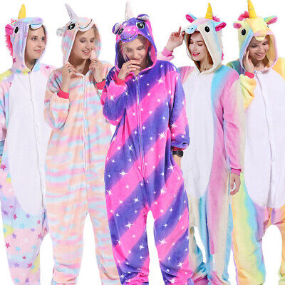Unisex Adult Unicorn Tenma Kigurumi Pajamas Cosplay Costume Animal Sleepwear