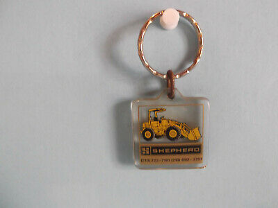 "Old Unique Collectible Keychains 1.""in Plastic Caterpillar 910 Loader"