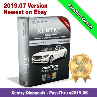 XENTRY DIAGNOSTIC PASSTHRU [2018/05] Mercedes [Program-only