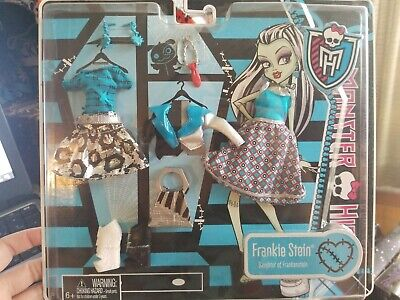 Monster High Frankie Stein Deluxe Fashion Pack Brand New