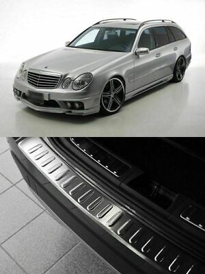 MERCEDES E Class W211 Estate 2003-2009 Loading edge protection with fold stainle