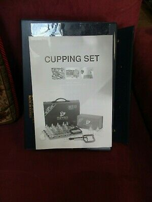 ~Hansol Medical Cupping Set With Directions Manual~17 In All, With Case~L@@K~~~