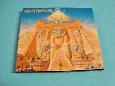 Powerslave [Limited Edition] by Iron Maiden (CD, Jan-2006, Sanctuary) Slipcase