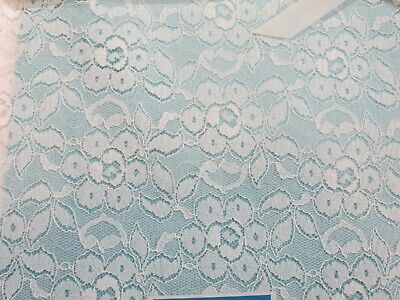 NOS - VINTAGE Quaker Lace Rectangle 54x72 Blossom Time Tablecloth  Pattern