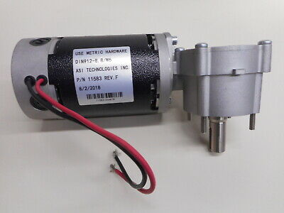 Tennant T7 Nobles SSR Brush Motor 1048884, 1210864, 1000083 With Gearbox