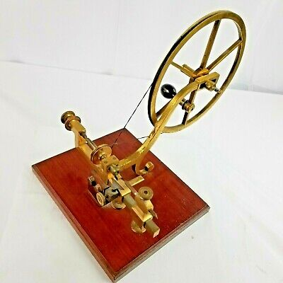 Antique Bench Model Jeweler's / Watchmaker's Hand Operated Lathe from the UK