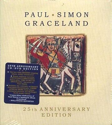 PAUL SIMON GRACELAND 25TH ANNIVERSARY SEALED Under African Skies CD DVD