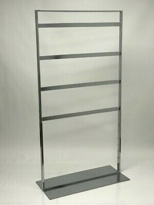 Accessories Rack with 3 Hanging Tiers(HEAVY DUTY) - Chrome - PERFECT FOR STORES