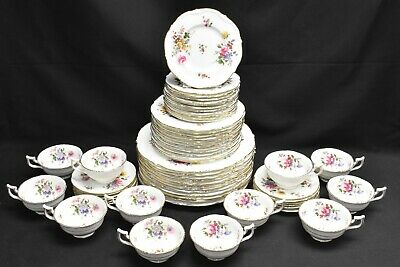 Royal Cauldon Marita Place Settings for 12 Cups Saucers Plates - 60 Pieces V9612
