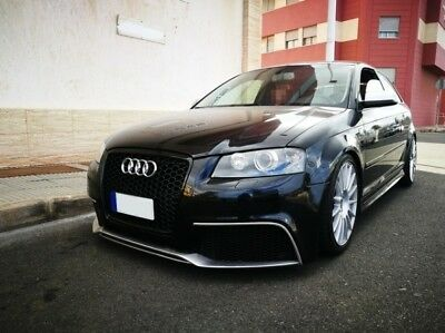 AUDI A3 S3 8P 8Pa Rs3 Look Front Bumper And Grille +