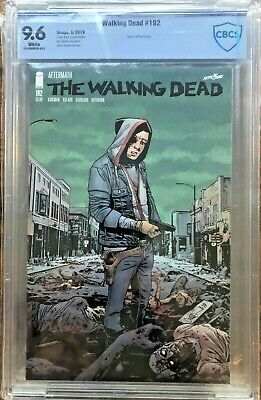 Walking Dead #192 Cbcs ( Cgc ) 9.6  - Death Of Rick Grimes ! - 1St Print ! Key !